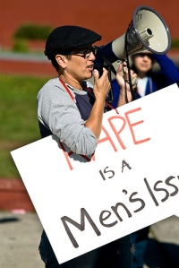 rape is a men's issue